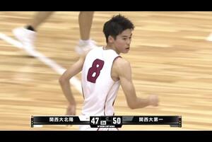 【高校バスケ】オールラウンダー 金近廉(#8)が躍動!関西大北陽 がウインターカップ出場へ(ウインターカップ2020 大阪府予選)