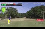 上田桃子選手 16番Par3でスーパーショット!!【JLPGAツアーチャンピオンシップリコーカップ 3日目】