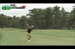 【女子ゴルフ】上田 桃子 ミラクルショット!ガチャンとピンに当たって直接カップインでイーグル!〈ワールドレディスチャンピオンシップサロンパスカップ2日目〉