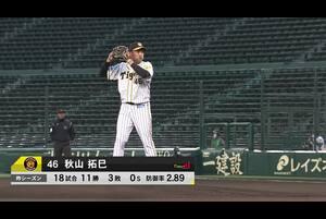 阪神vs巨人 2021/04/08 ダイジェスト