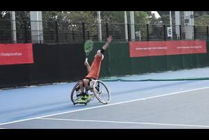 楽天オープンで、同時開催中の車いすテニスは、当日でも購入できるグラウンドチケットでご観戦頂けます!