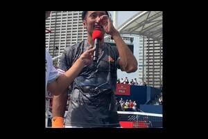 内山靖崇選手が楽天オープンで予選突破!本選に向けたインタビュー