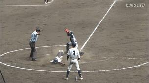 【甲子園交流試合】明徳義塾 - 鳥取城北 5回裏 明徳義塾・鈴木 大照の打席。一死三塁、犠牲フライにより勝ち越し。