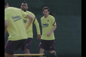 バルセロナ、リーグ再開へ急ピッチで調整