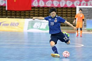AFCフットサル選手権トルクメニスタン2020東地区予選の第2戦。日本代表は韓国代表に4-2で勝利し、AFCフットサル選手権の出場権を獲得した。以下、試合後の加藤未渚実のコメント。