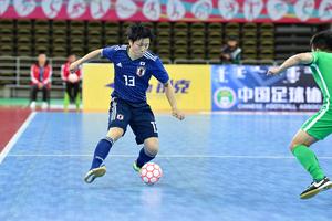 日本代表は10月22日(火)、中国・オルドスでAFCフットサル選手権の東地区予選の第1戦に臨み、マカオ代表に17-2で勝利した。以下、加藤未渚実のコメント。
