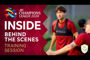 【ヴィッセル神戸】INSIDE - ACL DAY 12 TRAINING SESSION