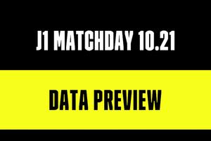 10月21日に行われるJ1リーグ3試合を数字でプレビュー