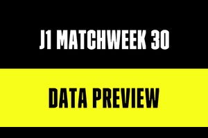 J1リーグ第30節を数字でプレビュー