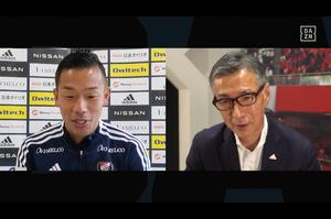 J1第11節注目カード「横浜ダービー」横浜FMキャプテン喜田拓也と水沼貴史が対談。<br /> また、ダービーを控えた現・横浜FCの伊藤翔が、古巣・横浜FMを語る。<br /> <br /> FC東京の田川亨介は、サガン鳥栖時代の恩師・金監督との対戦に向けて、「ゴールで恩返しをしたい」と意気込む。<br />  <br /> インタビュー:<br /> 喜田拓也(横浜FM)、伊藤翔(横浜FC)、水沼貴史(解説者)、田川亨介(FC東京)