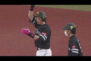 【6回表】ホークス・松田 センターへ勝ち越しのタイムリーヒット! 2020/11/3 M-H