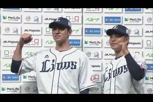 ライオンズ・浜屋投手・木村選手ヒーローインタビュー 10/28 L-E