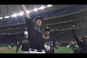 1回表 2アウトランナー3塁の場面。オリックス・杉本裕太郎は北海道日本ハムの先発・金子弌大の3球目を捉えると、打球はレフトスタンドへ!! 2ランホームランとなり、先制点を挙げた!! 2021/5/11 北海道日本ハムファイターズ 対 オリックス・バファローズ