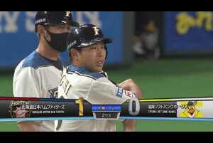 【2回裏】ファイターズ・樋口 ライトへの先制タイムリーヒット!! 2021/4/8 F-H