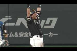 【7回表】熱男の一打!! ホークス・松田の勝ち越しタイムリー2ベースヒット!! 2021/4/7 F-H