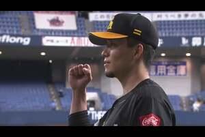 ホークス・千賀投手ヒーローインタビュー 10/14 B-H
