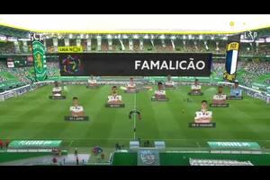 ポルトガル・リーグ第26節、未だ無敗の首位スポルティングはホームでファマリカンと対戦。気になる試合のハイライトです。