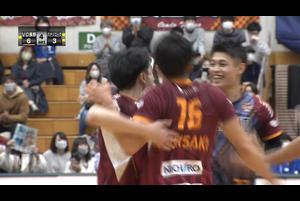 【バレー/Vリーグ】2020/11/29 ハイライト VC長野トライデンツ vs パナソニックパンサーズ