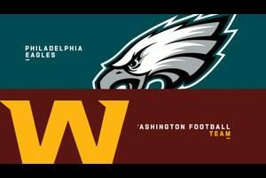 【NFL2020年第1週】ワシントンがイーグルスと本拠地で対戦