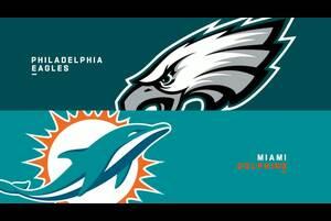 【NFL2019年第13週】連敗脱出を目指すイーグルスとドルフィンズが対戦