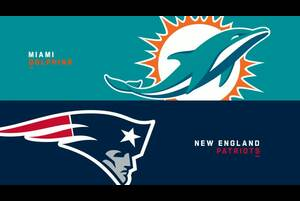 【NFL2019年第17週】引き分け以上でファーストラウンドバイ獲得のペイトリオッツがドルフィンズと対決