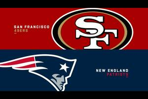 【NFL2020年第7週】ペイトリオッツがホームで49ersと対決