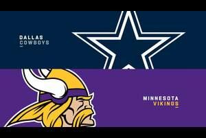 【NFL2020年第11週】3連勝中のバイキングス、ホームでカウボーイズを下して4連勝となるか