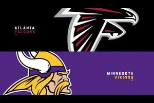 【NFL2020年第6週】今季未勝利の続くファルコンズが1勝4敗のバイキングスに挑む