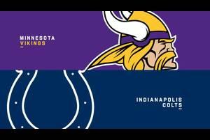 【NFL2020年第2週】バイキングスとコルツがインディアナポリスで対戦