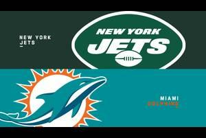 【NFL2020年第6週】地区ライバルのジェッツを迎え撃つドルフィンズ