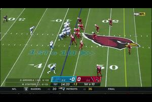 【NFL2020年第3週】ライオンズをホームに迎えたカーディナルス、3連勝なるか?