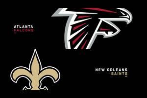 【NFL2020年第11週】NFC南地区首位セインツが同地区3位のファルコンズを迎え撃つ