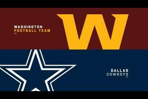 【NFL2020年第12週】ともに3勝7敗のワシントンとカウボーイズが4勝目をかけてNFC東地区対決に挑む