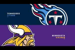 【NFL2020年第3週】今季未勝利のバイキングスが連勝中のタイタンズに挑む
