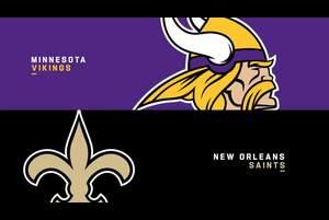 【NFL2019年ワイルドカード】勝ち上がるのはバイキングスかセインツか?
