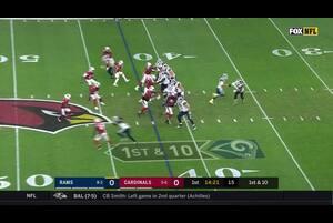 【NFL2017年第13週】NFC西地区首位のラムズが敵地で同3位のカーディナルスと対戦