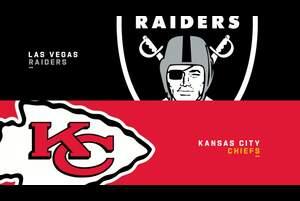 【NFL2020年第5週】AFC西地区首位のチーフスが同2位のレイダースを迎え撃つ