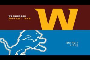 【NFL2020年第10週】ワシントンをホームに迎えたライオンズ、4勝目なるか?