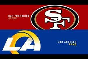 【NFL2020年第12週】ラムズが本拠地で49ersとの同地区対決に臨む