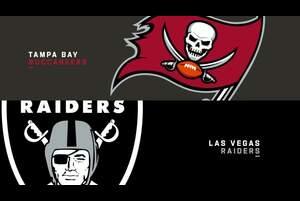 【NFL2020年第7週】レイダースが本拠地でバッカニアーズを迎え撃つ