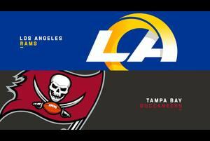【NFL2020年第11週】NFC西地区2位のラムズと南地区2位のバッカニアーズが激突