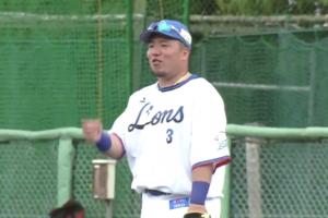 【イースタン・リーグ】西武・山川選手の実戦復帰後初ホームラン!!