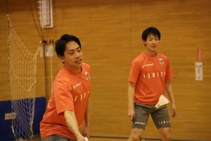 北海道コンサドーレ札幌、バドミントンチームも全体練習を再開!
