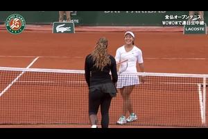 【マッチハイライト】クリスティ・アン vs セレナ・ウイリアムズ/全仏オープンテニス2020 1回戦