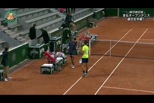 【マッチハイライト】錦織 圭 vs ステファノ・トラバグリア/全仏オープンテニス2020 2回戦