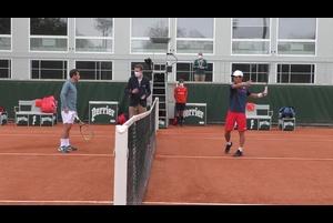 【マッチハイライト】ユーゴ・ガストン vs 西岡 良仁/全仏オープンテニス2020 2回戦