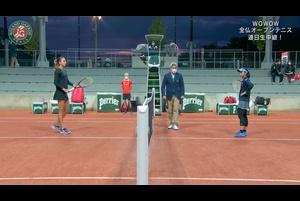 【マッチハイライト】ペトラ・マルティッチ vs 土居 美咲/全仏オープンテニス2020 1回戦