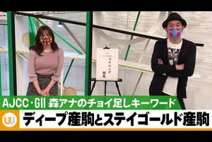 【AJCC】森香澄アナのチョイ足しキーワード『ディープ産駒とステイゴールド産駒』|ウイニング競馬 反省会