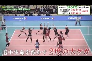 バレーボール女子日本代表・長岡望悠 二度の大怪我からコートに舞い戻るまでの涙の軌跡/Humanウォッチャー