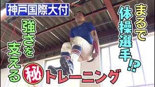 【神戸国際大付(兵庫)】スペシャルコンテンツ 「体操選手!?強さを支える㊙トレーニング」編